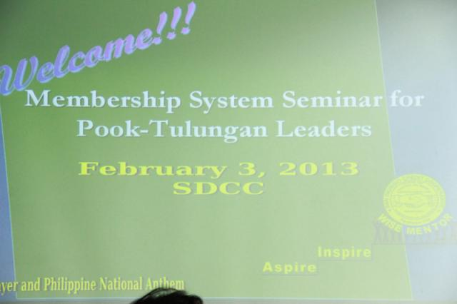 Membeship System for PT Leaders