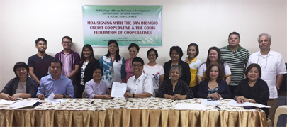 Memorandum of Agreement (MOA) Signing with Polytechnic University of the Philippines (PUP) and CODIS Federation of Cooperatives