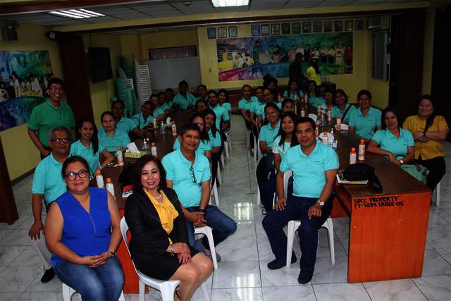 Visitors from Entrepreneurs Alumni Development Cooperative (Daraga, Albay)