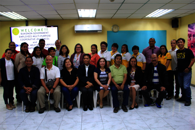 Visitors from Bukidnon Government Employees Multi-Purpose Cooperative and Perpetual Help Multi-Purpose Cooperative