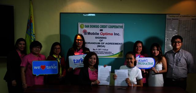 Memorandum of Agreement (MOA) Signing with Mobile Optima. Inc.