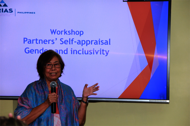 Partners' Self-Appraisal Gender and Inclusivity Workshop