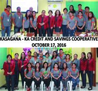Visitors from Kasagana - Ka Credit and Savings Cooperative
