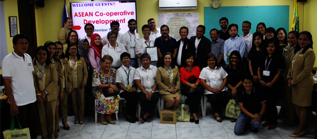 """ASEAN Co-operative Development Visited SDCC"""